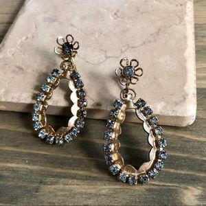 Vintage Aqua Marine Earrings